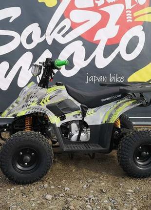 НОВЫЙ квадроцикл 110 сс кубов Sok Mot, для подростка, бензин