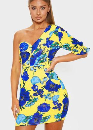 Ярко платье в цветы
