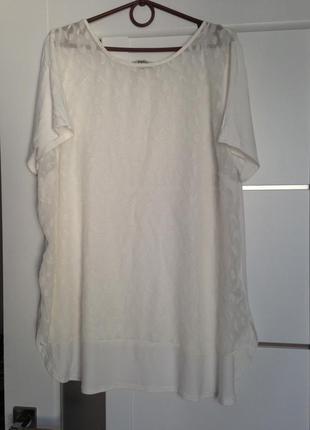 В наличии очаровательная блуза футболка с прозрачным передом 4...