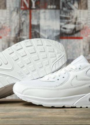 Мужские кроссовки nike air max, белые