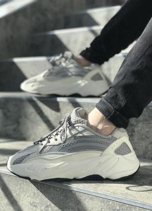 Adidas yeezy шикарные женские кроссовки адидас с рефлективом (...
