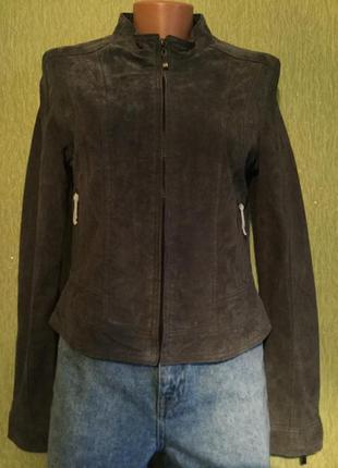 Куртка натуральный замш hema размер 10