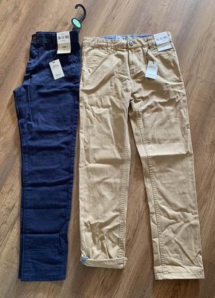 Котоновые брюки чиносы на мальчика