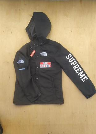 New! водонепроницаемая куртка supreme / the north face