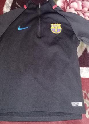 Детская кофта nike fc barcelona
