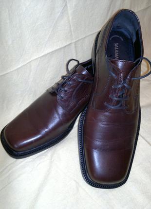 """Мужские туфли """"Salamander"""" кожаные новые эксклюзивные"""
