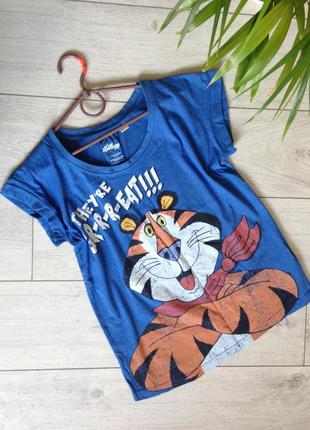 Оригинальная футболка с веселым принтом primark