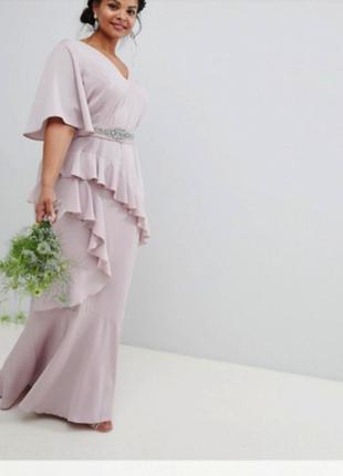 Вечернее выпускное платье макси asos