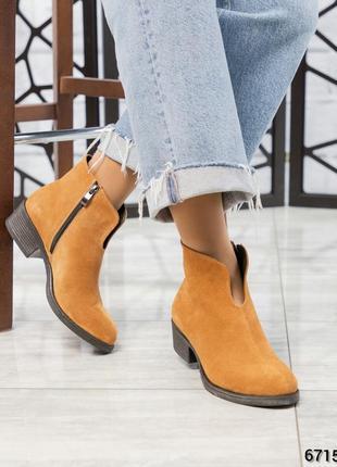 ❤ женские camel весенние демисезонные кожаные ботинки ботильон...