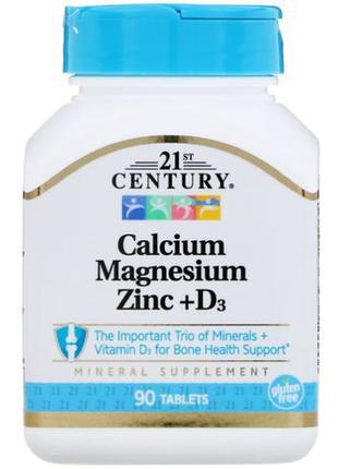 21st Century минеральная добавка кальций магний цинк витамин D...