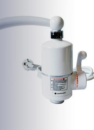 #734 Проточный водонагреватель Делимано электрический кран