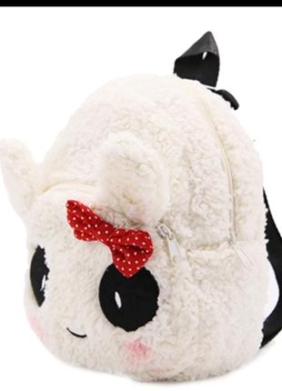 Мягкий рюкзак игрушка панда для девочки