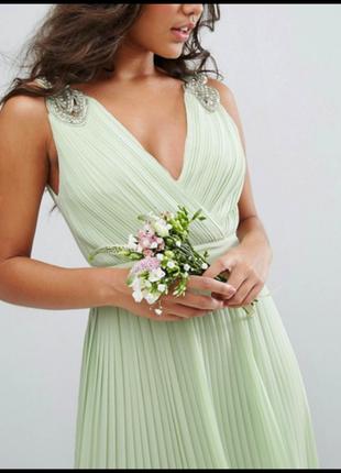Выпускное вечернее платье макси в греческом стиле