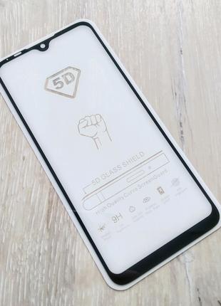 Xiaomi Mi A3 защитное стекло full glue