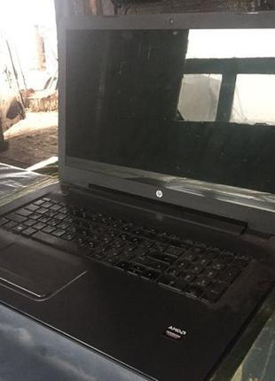 Ноутбук HP 17-y038ur Turbo Silver