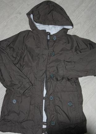 Курточка-ветровка длинная ф.zara kids р-116/122,для ребенка 5/...