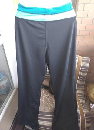 Классные эластиковые штаны размер 50-52укр