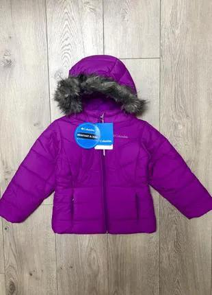 Куртка зимняя Columbia Katelyn Crest 4T 98-104 очень теплая, нова