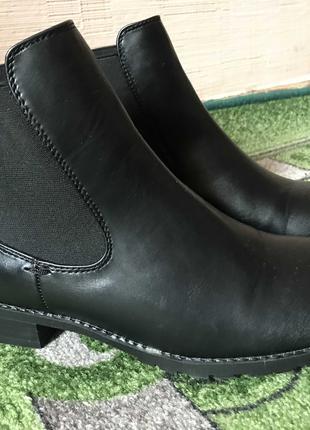 Ботинки Челси фирма London rebel кожа