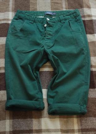 Шорты джинсового кроя topman, плотный бархатистый коттон