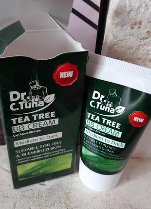 Вв крем тональный с маслом чайного дерева farmasi фармаси