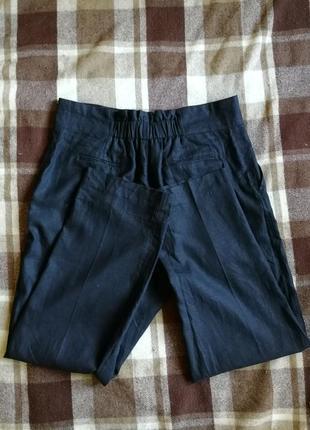 Роскошные брюки палаццо marks&spanser, лен с вискозой