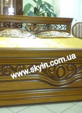 Двуспальная кровать Эдельвейс