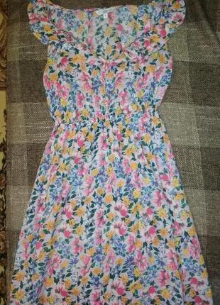 Сарафан летний, платье легкое летнее хлопок
