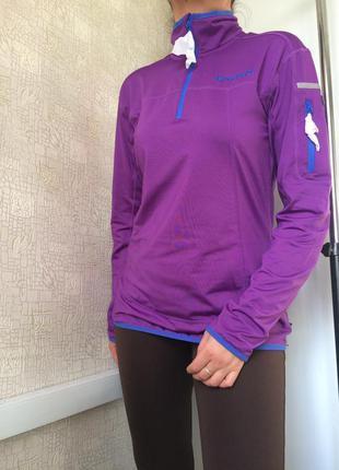 Спортивная кофта/лонгслив для бега/норвежский бренд brandsdal