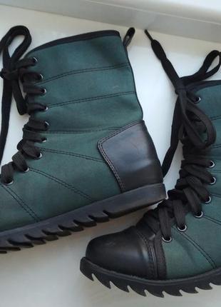 Ботинки, ботинки на шнурках