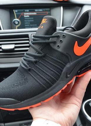 Nike presto black мужские кроссовки найк престо чёрные