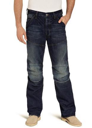 Новые с биркой джинсы рваные w29 l30 'g-star raw' 3d loose