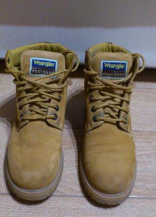 Ботинки кожаные мужские рыжие черевики шкіряні чоловічі рижі w...