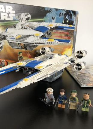 Lego 75155 Лего конструктор Star Wars U-Wing оригинал полный н...