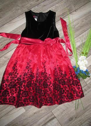 Нарядное платье american princess 6-7 лет