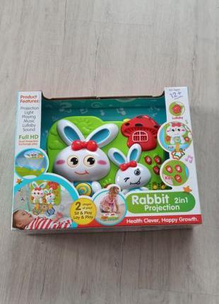 Игровая панель с функцией проектора Fivestar Toys Rabbit 2 in 1