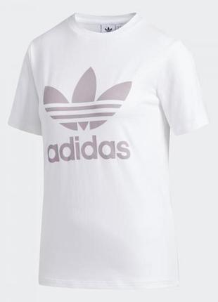 Женская футболка adidas originals trefoil fj9454