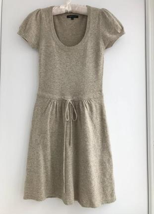 Теплое милое шерстяное  платье, люкс бренд max azria