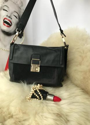 Роскошная эффектная кожаная сумка, натуральная кожа, мех, auto...