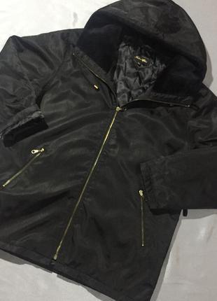 Куртка парка свободного кроя р.38-40 большой размер