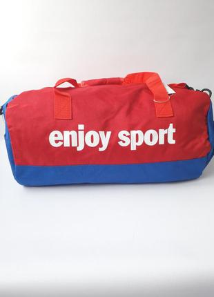 Вместительная спортивная сумка с отделом для обуви