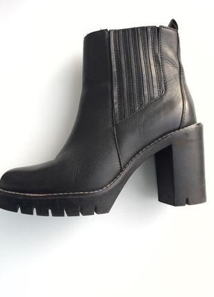 Натуральная кожа, ботинки tommy hilfiger original, 37