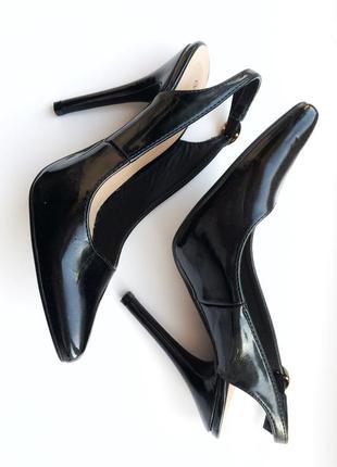 Туфли босоножки лодочки, шпилька, 38