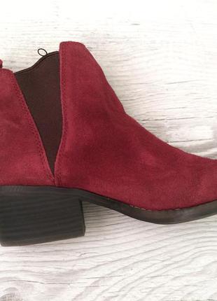 Челси ботинки, натуральная кожа, 38