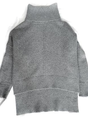 Серый свитер, объёмный