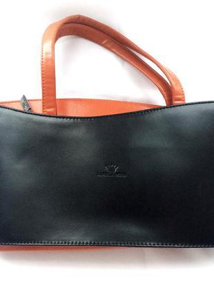 Кожаная сумочка италия 🇮🇹, daniela moda