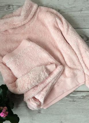 Плюшевая домашняя одежда, пижама