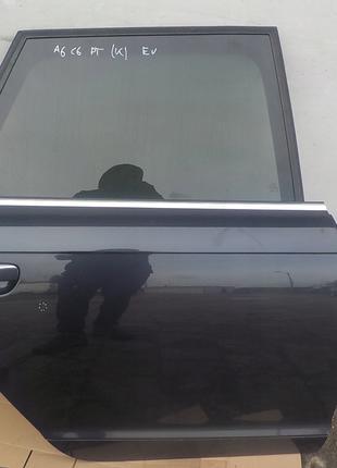Дверь задняя правая на комби Audi A6 C6 4F Kombi 2009- с разборки