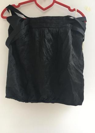 Блузка топ майка , шелковая, натуральный шёлк