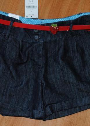 Шорты next джинсовые 13 лет